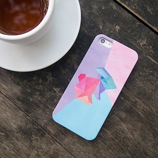 Geometric Bunny iPhone case