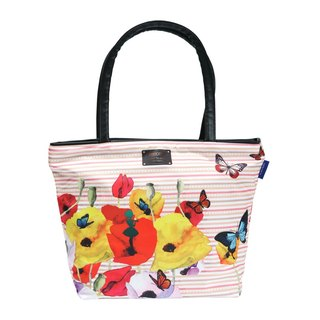 COPLAY tote bag II-butterfly & flower