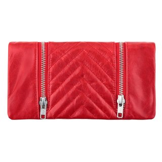 ALICE clutch _red / red