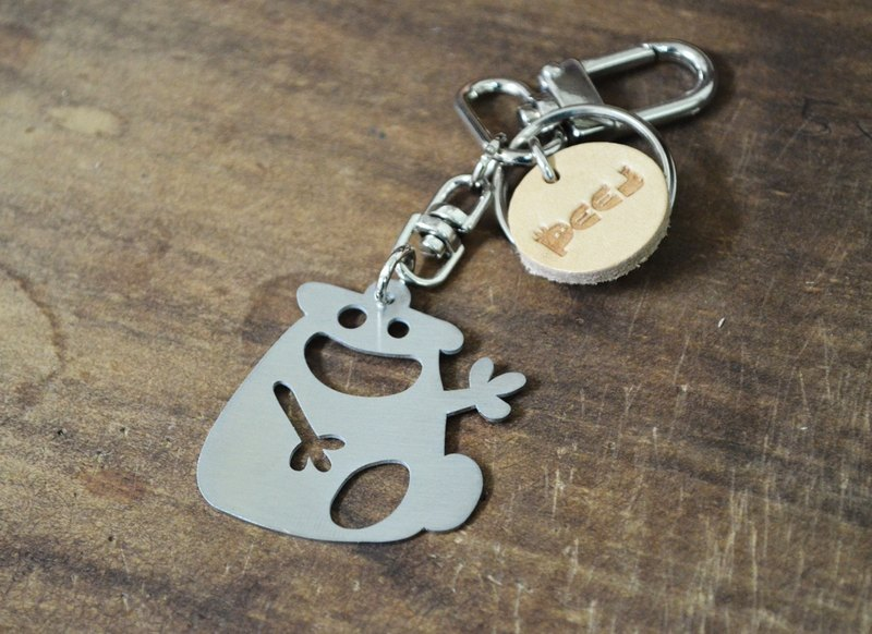 """Five to Niner"" Stainless Steel Keychain"