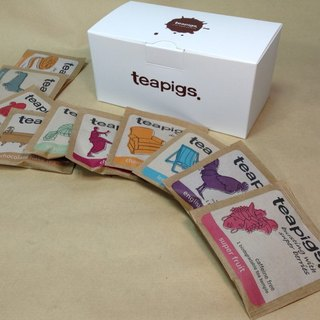 Herbal tea, British tea teapigs, imported, tea bags, delicate gift boxes