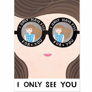 Chienchien - I ONLY SEE YOU! - Series 03 Illustrator Postcard / Card