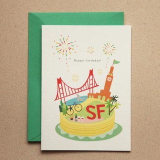 San Francisco Happy Holidays / 3張入
