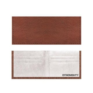 Billfold Paper Wallet_ Brown Leather