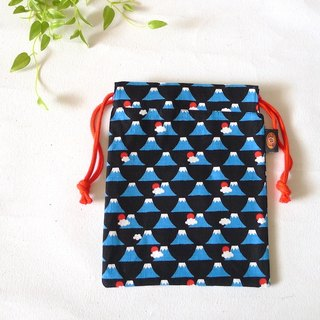 ✎ Mount Fuji in Japan | beam port Universal bag / pouch | 1st Generation | Small