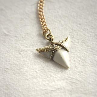 Shark Tooth Pendant/ Necklace