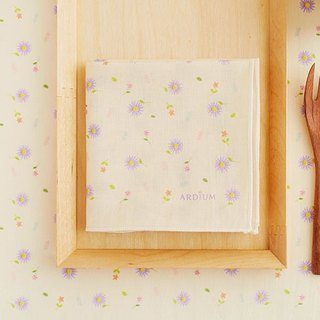 ARDIUM cotton handkerchiefs - daisies