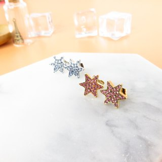 Galaxia Earrings 316L Stainless Steel Silver/Gold plated L20E