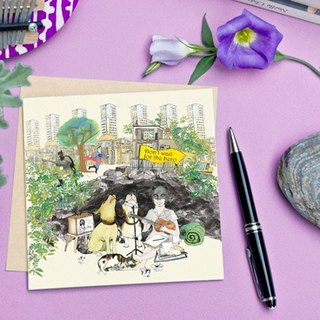 <The most beautiful moment> Greeting Cards / hero will not come (single)