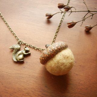 *coucoubird*fat Acorn Necklace (Ultra Limited !!!)