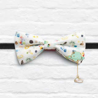 Style 0136 Bowtie with decorative pins - Modern Boys Bowtie, Toddler Bowtie Toddler Bow tie, Groomsmen bow tie, Pre Tied and Adjustable Novioshk