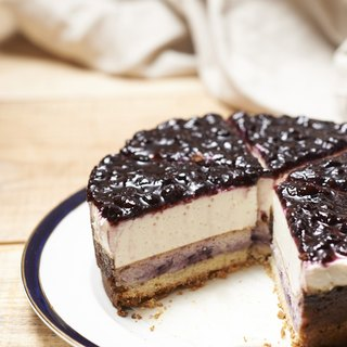 Double Blueberry Cheesecake