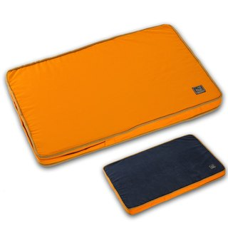 Lifeapp is not easy to stain the pet sleeping pad M (Orange Blue) W80 x D55 x H5 cm