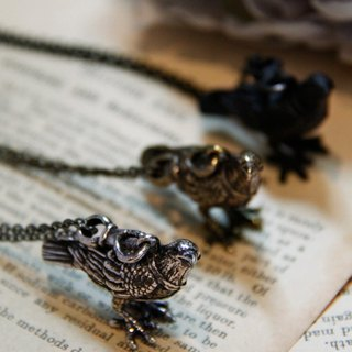 Rendezvous Chain - Raven Necklace