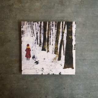 Post card to that forest