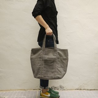 Orly 2 Ways Tote Bag M — Stone Washed Canvas