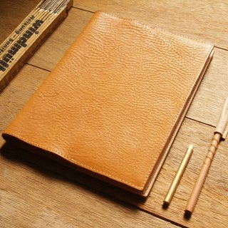 weekenlife - Leather Book Sleeve A5 ( Custom Name ) - Classic Tan
