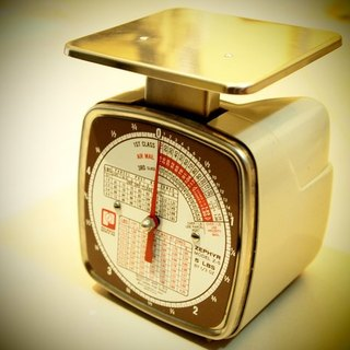 Early in 1974 the United States made the old post office scales Pelouze Scale