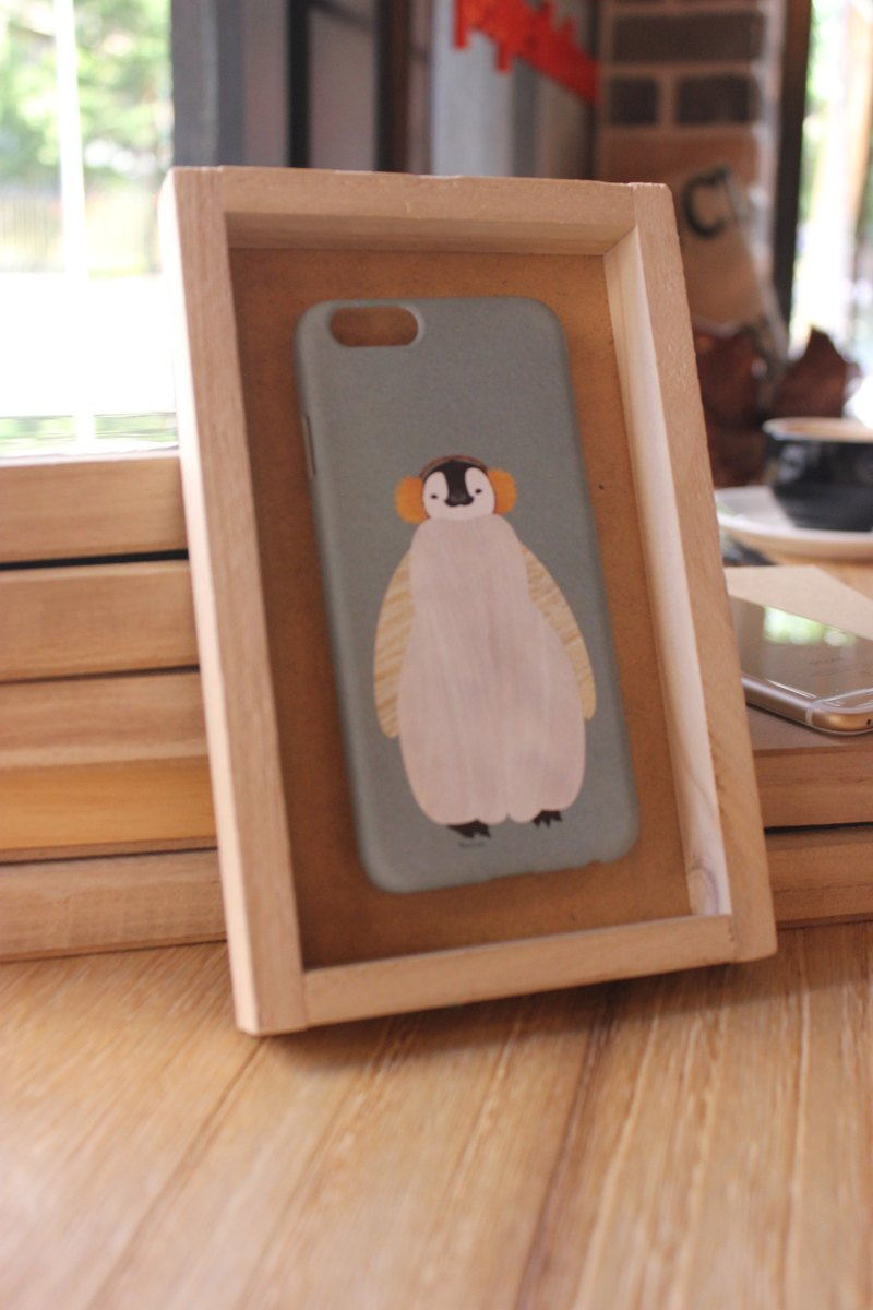 Korea style top anti-wear paint painted phone protective shell [Spa smaller objects / South Korea's Little Penguin Penguin Design Hall can be customized model iPhone: i6s / i6s plus + / i6 / i6 plus / i5 / Samsung Samsung: S6 Edge + plus / S6 / S6