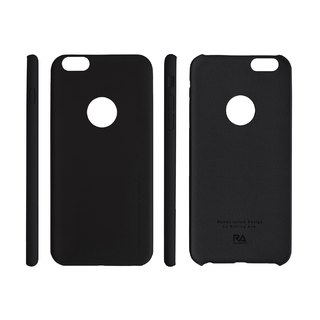 【Rolling Ave.】Ultra Slim iphone 6s plus / 6 plus 手感皮質護套-經典黑