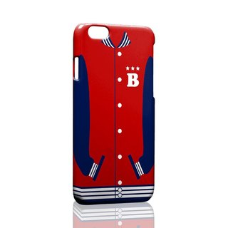 Red baseball jacket custom Samsung S5 S6 S7 note4 note5 iPhone 5 5s 6 6s 6 plus 7 7 plus ASUS HTC m9 Sony LG g4 g5 v10 phone shell mobile phone sets phone shell phonecase