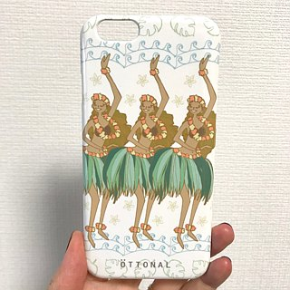 Hawaiian Hula White Smartphone Case