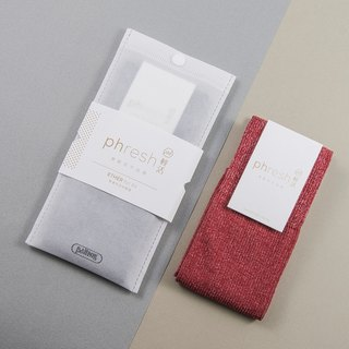 Light Ether - 焓 warm light casual socks - iodine red