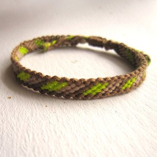 The Wizard of Oz Earth Lucky Knit Bracelet (optional color)