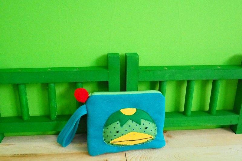 E*group 河童阿卡手提包 藍綠色