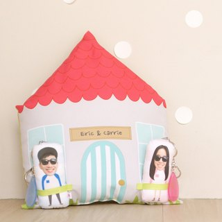 Handmade/Lover Hug Pillow Set / Customized