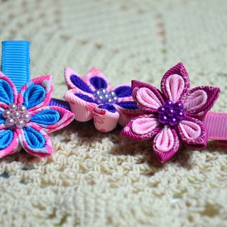 [Rou Ma hand for small objects] Sew flower - double florets paragraph