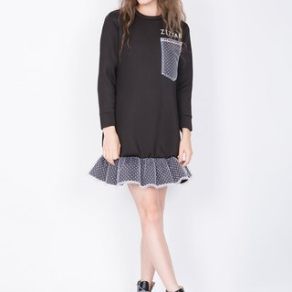ZIZTAR lucky black dress