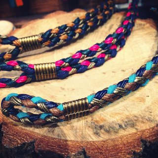 NEW NOISE - FOUR STRAND BRAIDED BRACELET