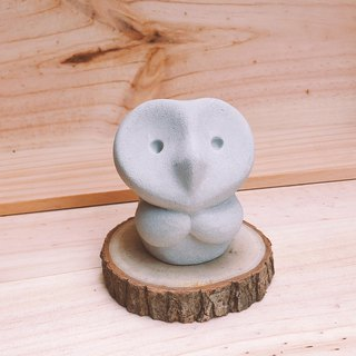 Pray / Owl Diffuser Stone or Paperweight
