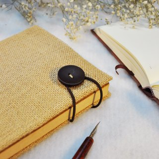 Hand-made book clothing book [You Are the One] deep jute cloth paragraph (A5)