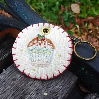[Time] embroidery rural Charm - cup cake