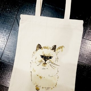 Cat and dog and owl with shopping bags -04- eight small child