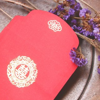 "Red Envelope/Gold Stamping in Chinese Character""囍""/Big Size"