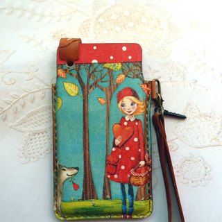 Little Red Riding Hood iphone / htc ..... mobile phone sets / free play English name / Valentine recommended a good thing