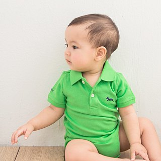 Cotton mesh Polo Classic green clothing bag fart