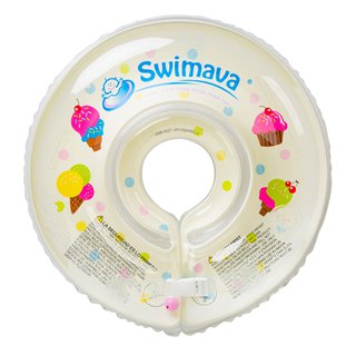 G1 Swimava ice cream baby swimming neck ring