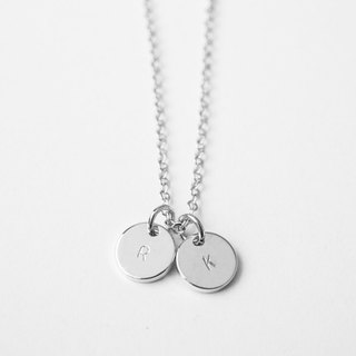 Initial Charms Necklace