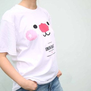 Star Rabbit Sing Sing Rabbit3 Anniversary Limited Edition White Face Tee