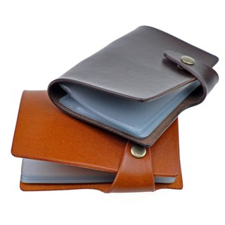 [DOZI Leather Handmade] Card Holder This Credit Card Card Holder Card Storage Card Holder Credit Card Holder Business Card This Leather For Dyeing Makes Free Color Matching