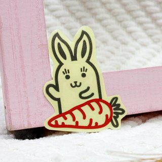 [Reflective stickers] Bunny Bunny 6.8 * 4.7 cm
