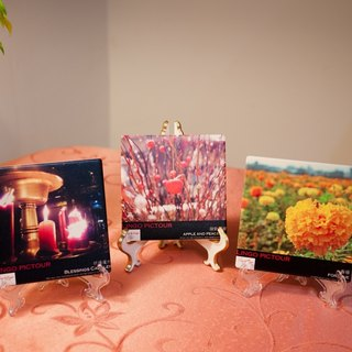 "[Video] wandering horizon ღ pictour creation of installation art coaster set ""Candlelight Blessing"" Blessings candles"