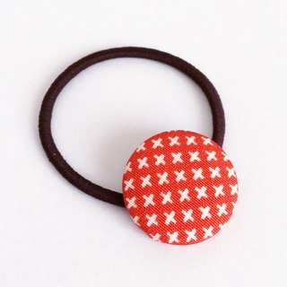 Hair elastic with Japanese Traditional Pattern, Kimono (Small)