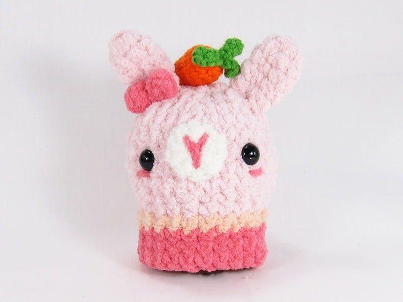 優雅兔兔-鑰匙包-鑰匙套-兔