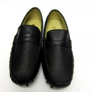 Fort Tony Wang handmade leather shoes (M) [sheep / bean bottom / Black]