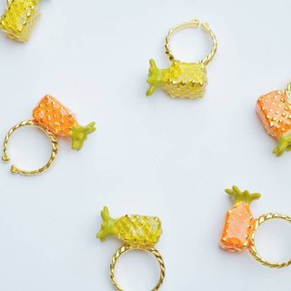 Paper Fruit Collection : Yellow Pineapple Ring